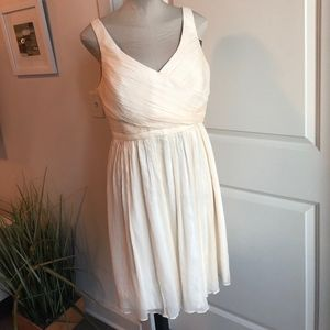 J. Crew Heidi Champagne Silk Dress: Wedding NWT